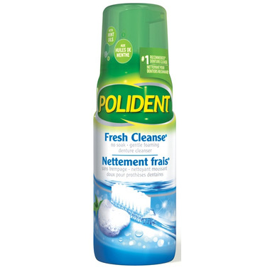 Polident Fresh Cleanse Denture Cleanser