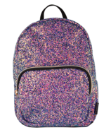 Fashion Angels Chunky Glitter Mini Backpack Midnight