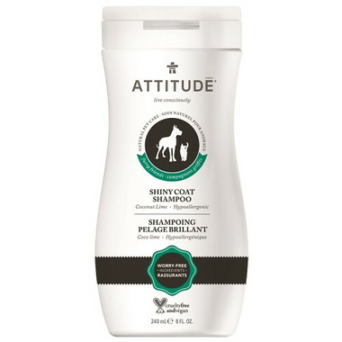 ATTITUDE Furry Friends Shiny Coat Pet Shampoo Coco Lime