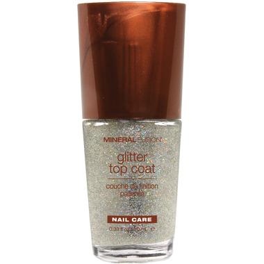 Mineral Fusion Glitter Top Coat