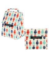 Keep Leaf Organic Cotton Lunch Bundle Robot
