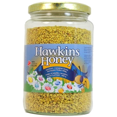 Hawkins Honey Canadian Sunfresh Dried Bee Pollen