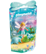 Playmobil Fairy Girl with Racoons