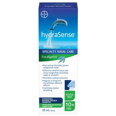 hydraSense Speciality Nasal Care Gentle Mist Eucalyptus