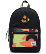 Herschel Supply Heritage Kids Backpack Black & Neon Camo