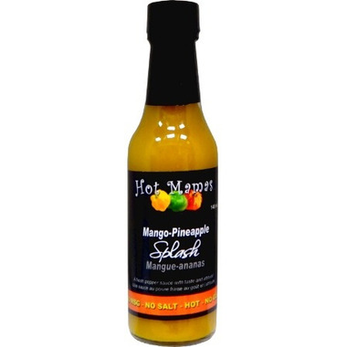 Hot Mamas Mango Pineapple Splash Hot Sauce