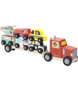 Vilac camion et remorque avec véhicules empilables