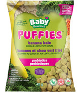 Baby Gourmet Puffies Probiotics Banana Kale Puff Snacks