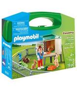 Playmobil Bunny Barn Carry Case