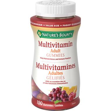 Nature\'s Bounty Adult Multivitamin Gummies