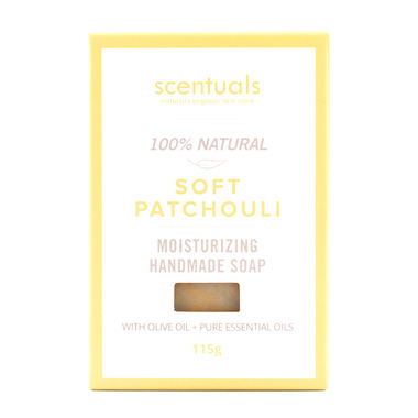 Scentuals 100% Handmade Natural Soap Soft Patchouli