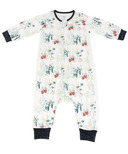 Nest Designs Bamboo Pima Long Sleeve Sleep Suit Spring Harvest 0.6 TOG