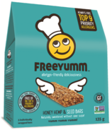 FreeYumm Honey Hemp & Seed Bars