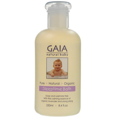 Gaia Natural Baby Sleep Time Bath
