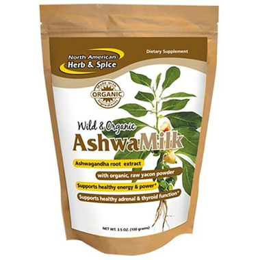 North American Herb & Spice Wild And Organic AshwaMilk