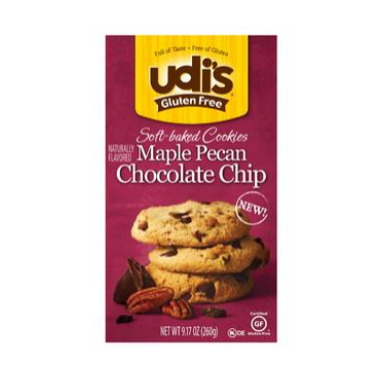 udi\'s Gluten Free Maple Pecan Chocolate Chip Cookies