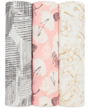 aden + anais Silky Soft Muslin Swaddles Pretty Petals