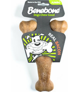 Benebone Wishbone Jumbo Bacon