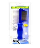 Nix Premium Metal Two-Sided Lice Comb