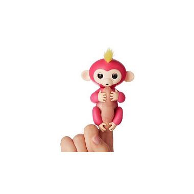 Fingerlings Baby Monkey Pink Bella