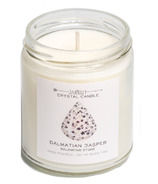 JaxKelly Dalmatian Jasper Crystal Candle