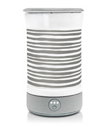 Happy Wax Signature Warmer Gray Stripe
