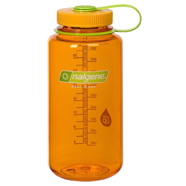 Nalgene 32 Ounce Wide Mouth Loop Clementine