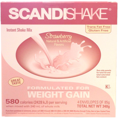 ScandiShake Instant Shake Mix Strawberry