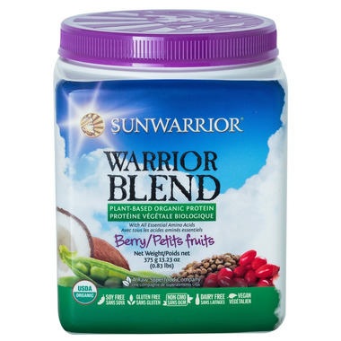 Sunwarrior Warrior Protein Blend Berry