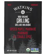 Watkins Organic Spiced Maple Marinade