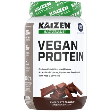 Kaizen All Natural Vegan Protein Chocolate