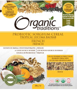 Organic Traditions Probiotic Cereal Lucuma Baobab