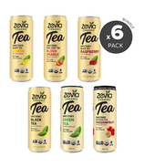 Zevia Organic Sweetened Iced Tea Bundle