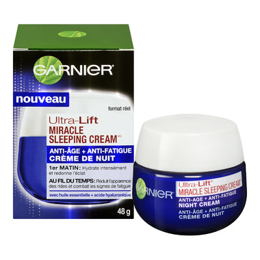Garnier Ultra-Lift Miracle Sleeping Cream Anti-Age + Fatigue Night Cream