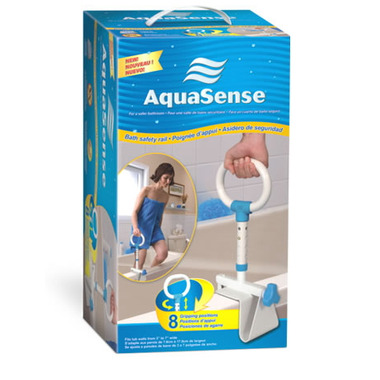 AquaSense Multi-Adjust Bath Safety Rail