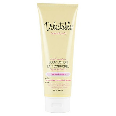 Be Delectable Lemon & Cream Triple Moisture Body Lotion