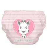 Charlie Banana 2-in-1 Swim Diaper & Training Pant Pink Heart Sophie