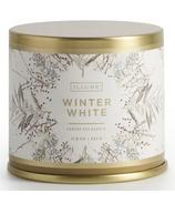 Illume Winter White Large Tin Candle