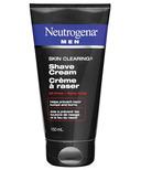 Neutrogena Men Skin Clearing Shave Cream
