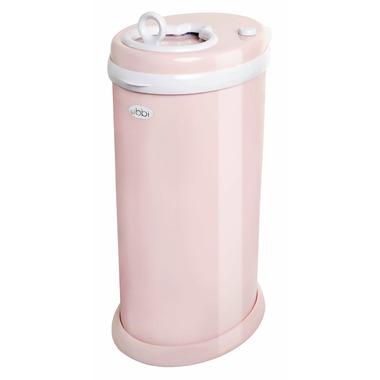 UBBI Steel Diaper Pail Blush Pink