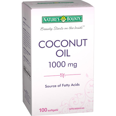 Nature\'s Bounty Coconut Oil Softgels