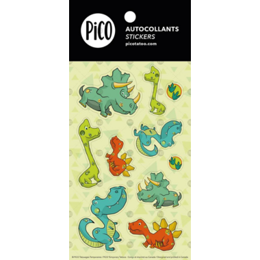 PiCO The Dinosaur Stickers