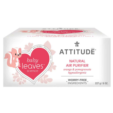ATTITUDE Baby Leaves Air Purifier Orange Pomegranate