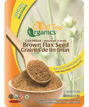 Gold Top Organics Cold Milled Brown Flax Seed
