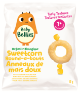 Baby Bellies Organic Sweetcorn Round-a-bouts Puffs