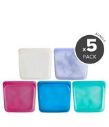 Stasher Reusable Storage Bag Variety Bundle