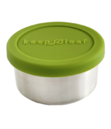 Keep Leaf Stainless Steel Food Container Small Green