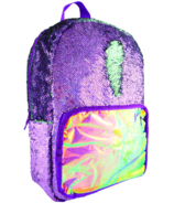 Fashion Angels S.Lab Magic Sequin Backpack Purple Holographic Seafoam