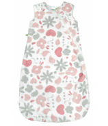Perlimpinpin Plush Sleep Bag Pink Garden