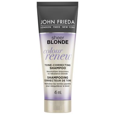 John Frieda Sheer Blonde Colour Renew Tone-Correcting Shampoo Trial